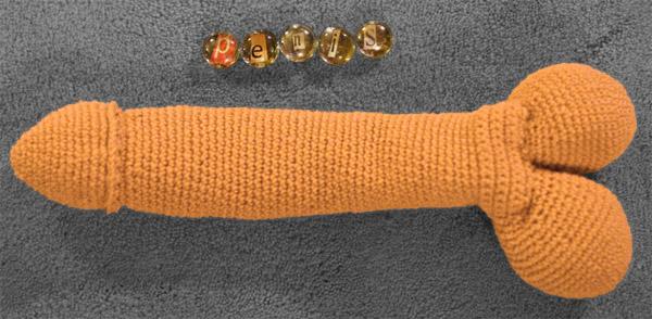 crochet penis cover